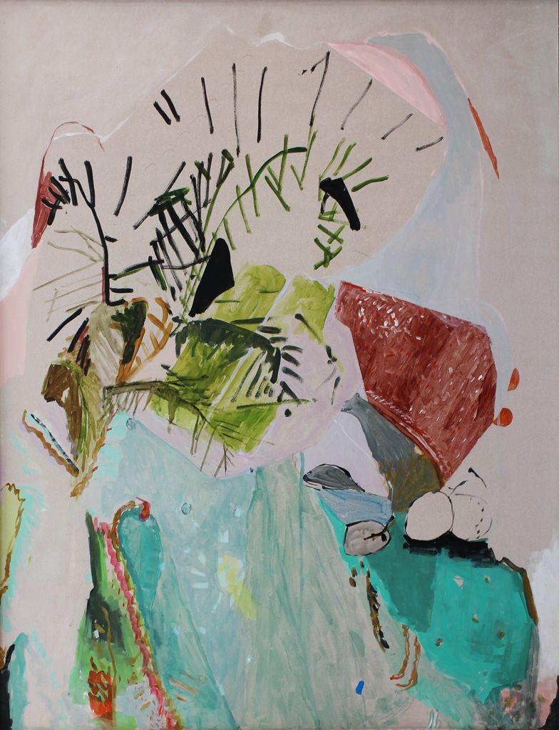 Jeanne Hoffman Gossamer Still Life Mixed media on board 85 x 65 cm