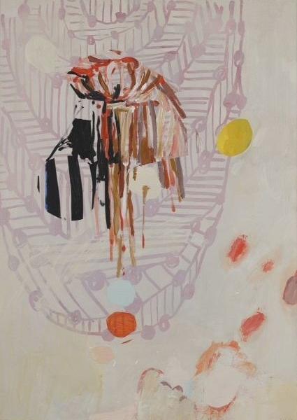Jeanne Hoffman Moment Acrylic on board 50 x 30 cm