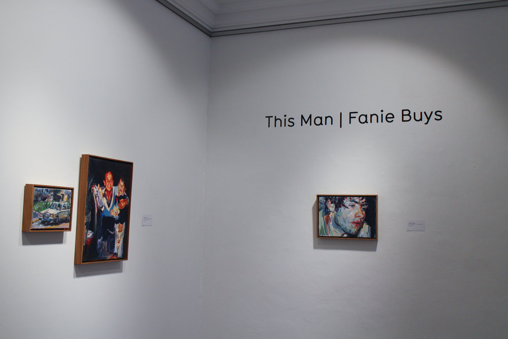 Fanie Buys  Installation view of This Man