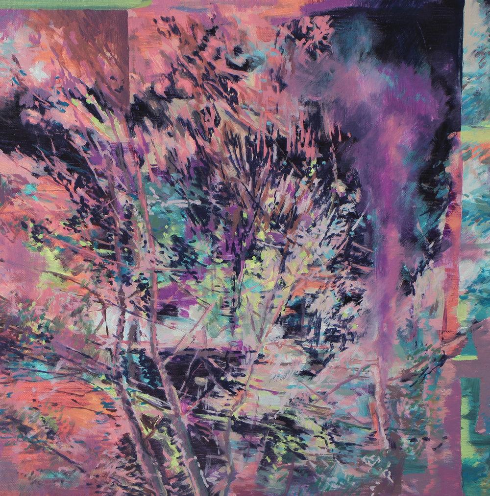 Karen Cronje  Untitled II  Oil on canvas  40 x 40 cm
