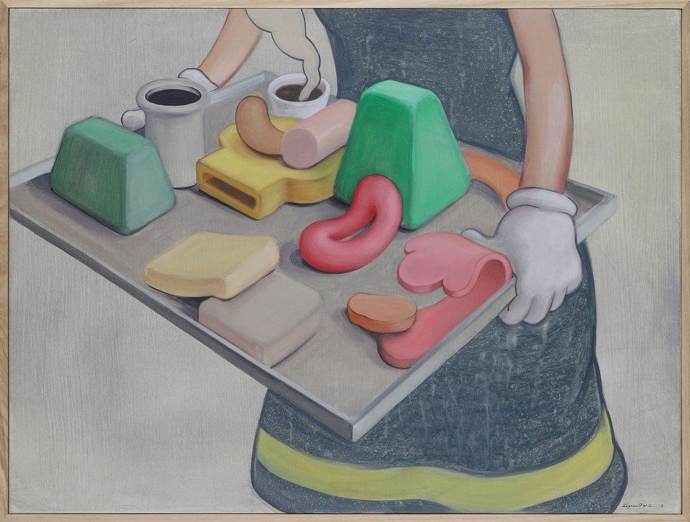 Wim Legrand  Sread  Acrylic on canvas  60 x 80 cm