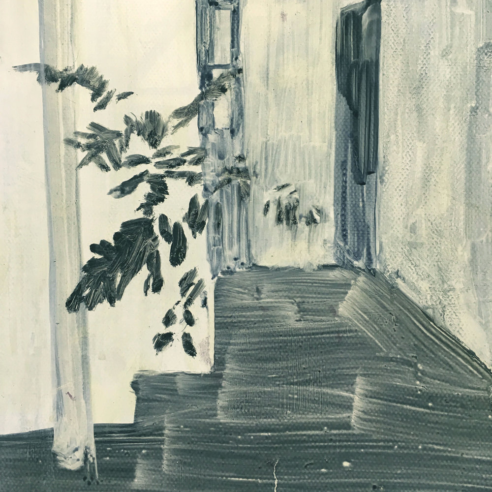 Daniel Nel  Plastic (Detail)  Oil on canvas  40.5 x 30.5 cm