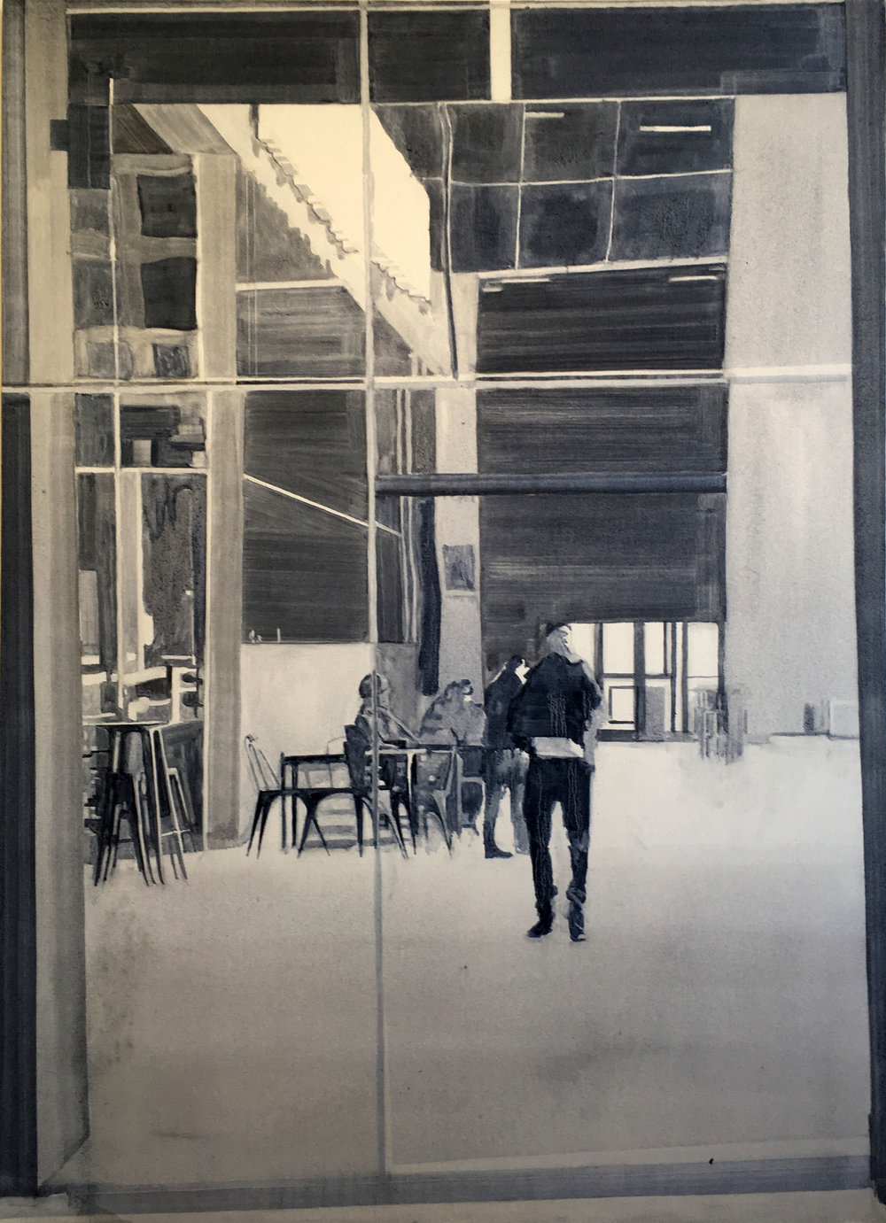 Daniel Nel  Reflection  Oil on canvas  117 x 84 cm