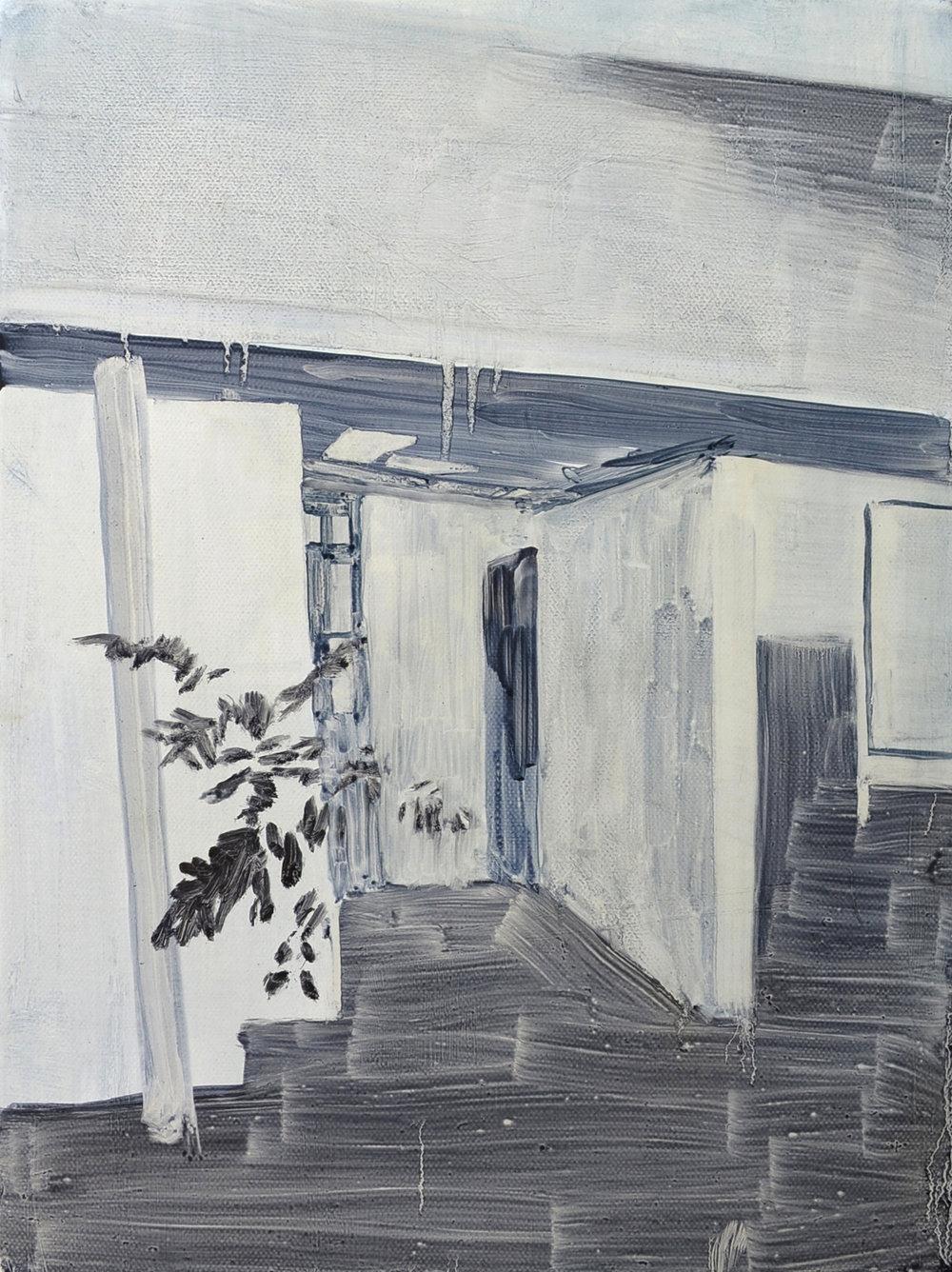 Daniel Nel  Plastic  Oil on canvas  40.5 x 30.5 cm