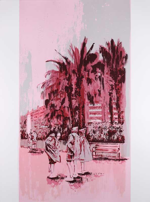 Ruby Swinney  Fever in the Whisper  Screenprint  76 x 56 cm