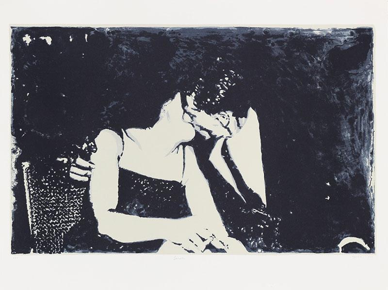 Sanell Aggenbach  Secrets  Screenprint  56 x 76 cm