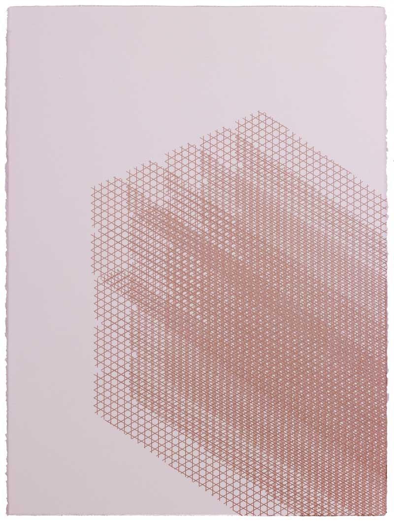 Paul Edmunds  Window  Screenprint  76 x 56 cm