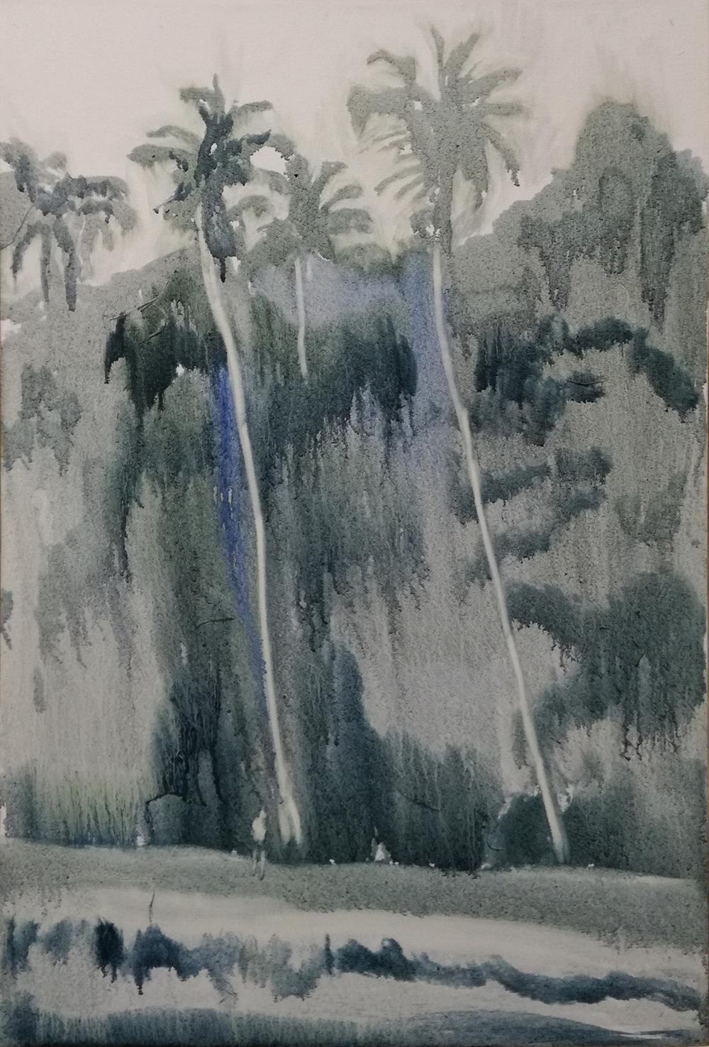 Daniel Nel  Beach  Oil on canvas  60 x 40 cm