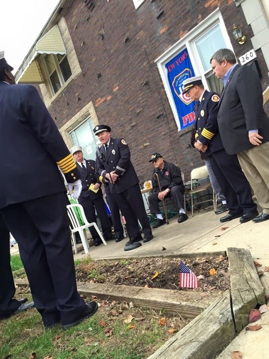 UDPFFA President William Norris Giving a Speech During Ceremony