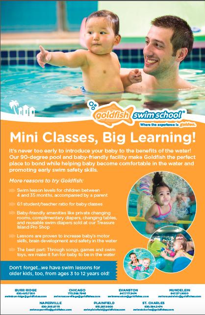Goldfish Swim School Advertisements Alison Jung Marketing