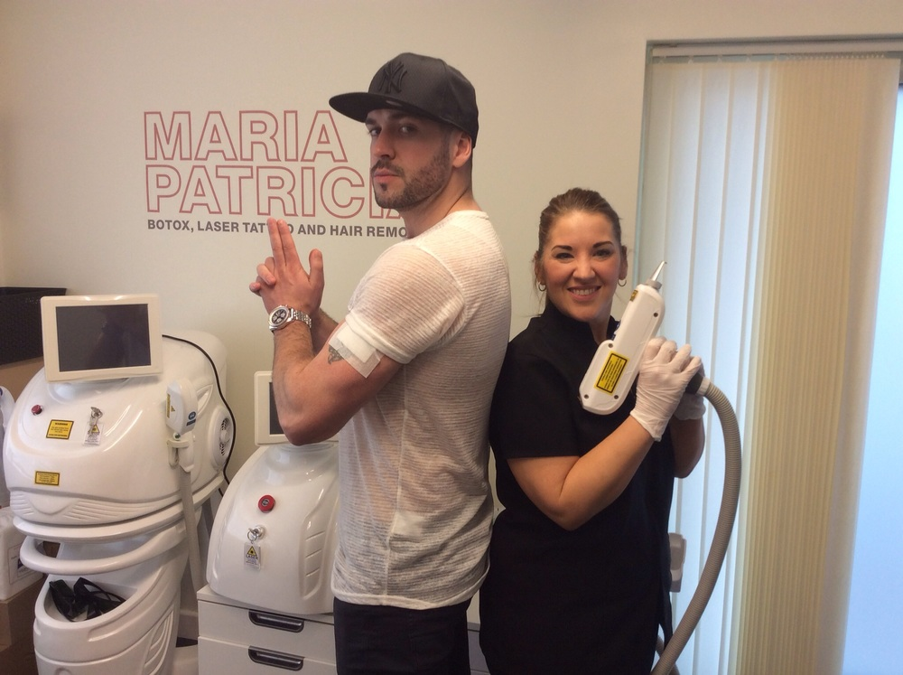 Shayne Ward with Maria Patricia