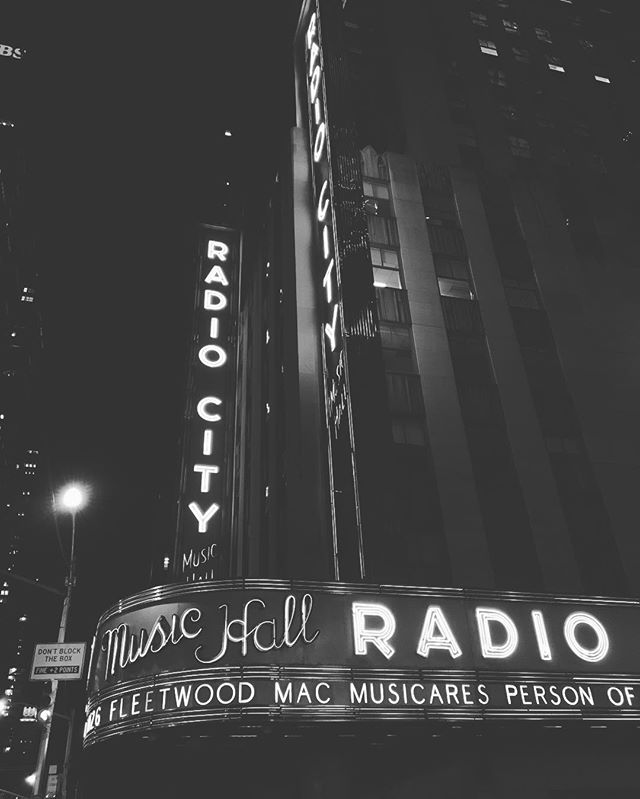 A career highlight performing tonight at @radiocitymusichall with @onerepublic for Music Cares person of the year @fleetwoodmacc