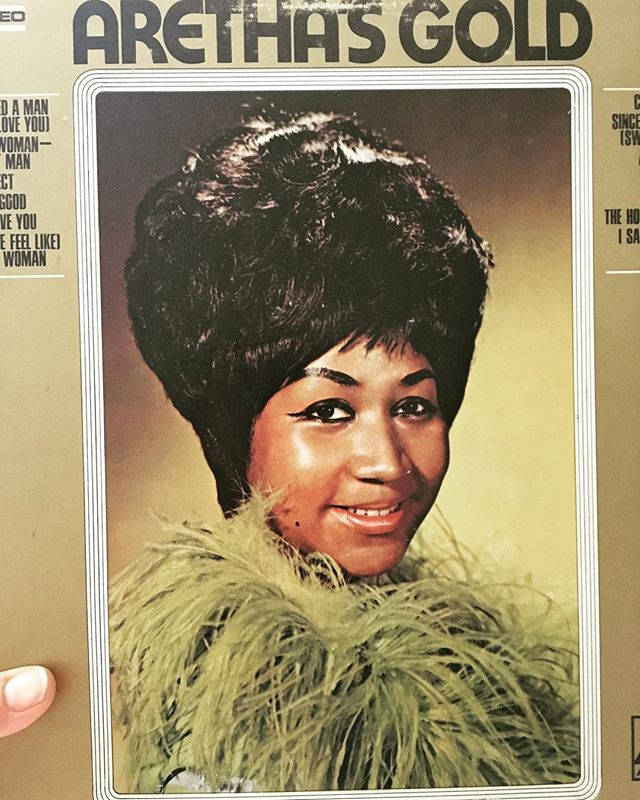 One of the most inspiring voices of our time and one of the greatest influences of my career and to so many others. Your incredible music, voice, lines and creativity are deeply ingrained in our lives. Thank you for being the absolute Queen of Soul and our gold forever....