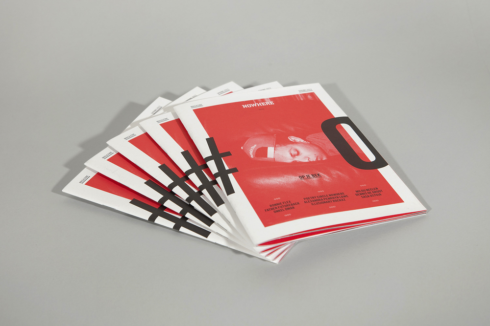 Workshop booklets for Nowhere Amsterdam.