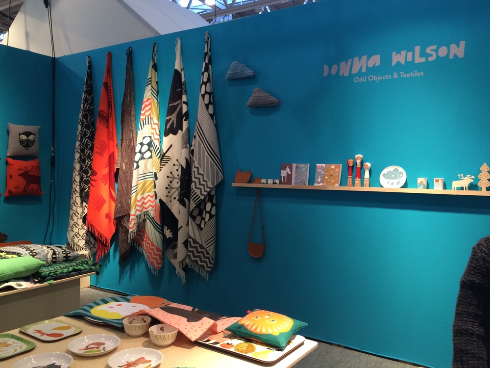 Stand by Donna Wilson at Maison & Objet, I love the prints
