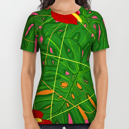 tropical insanity t-shirt