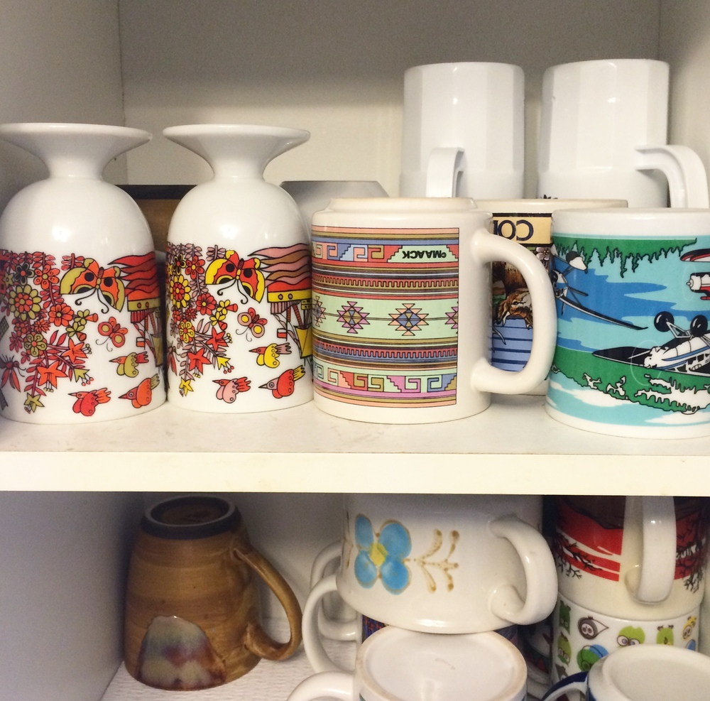Coffee mug heaven.