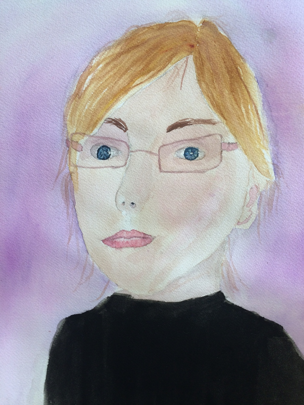 Bella, age 13, Self Portrait