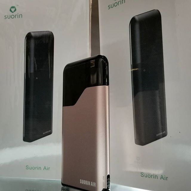 Suorin Air, the credit card sized pocket vape! Perfect for on the go!  #pocketfriendly #suorinair #vapeshop #vapebosspa #alldayvape #vapefamily