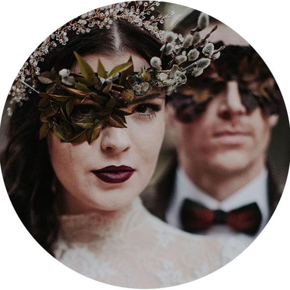 Green Wedding Shoes - Vintage Haunted Harvest Wedding Inspiration