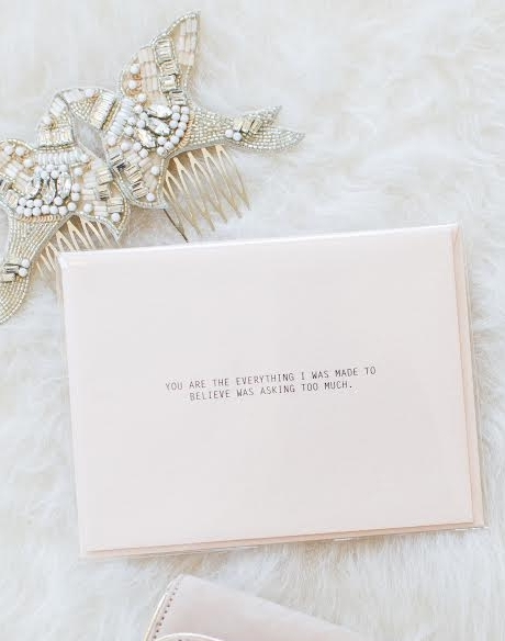 Rust & Ivory Cards -