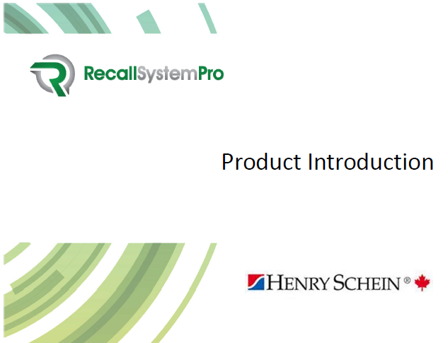 RSP Intro Deck - A great little executive summary to help you better understand the origins and need for Recall System Pro.