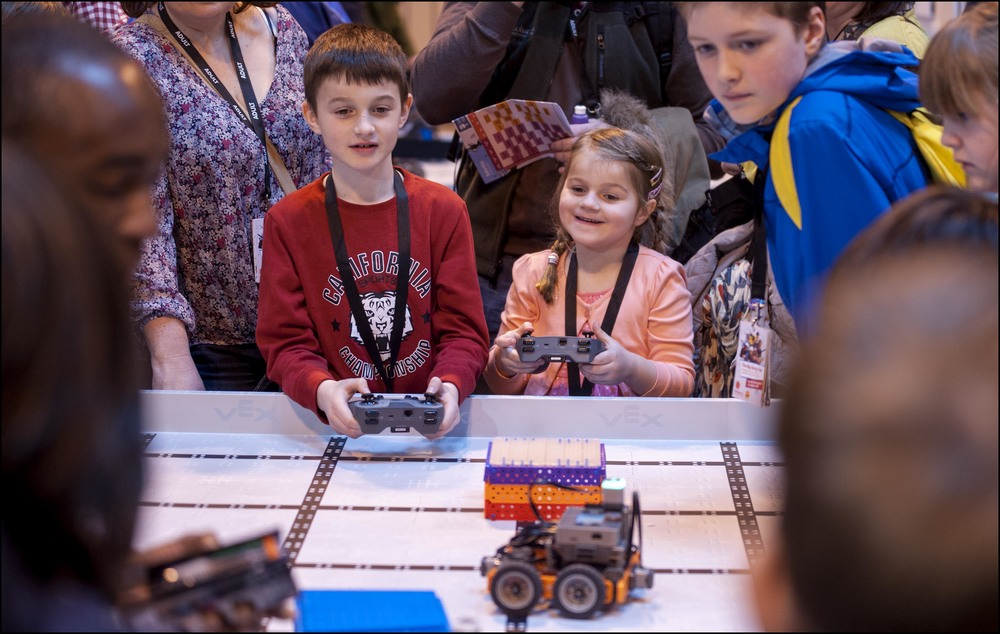 VEX Robotics Young Children
