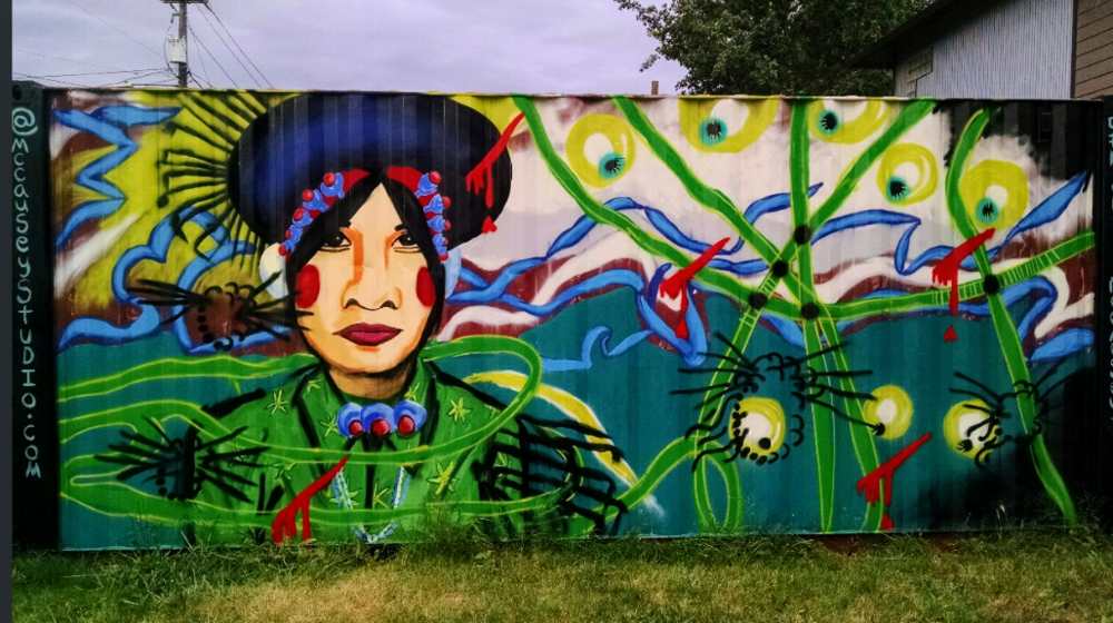 Container Mural