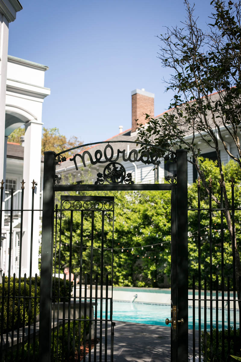 Weddings at Melrose Mansion New Orleans