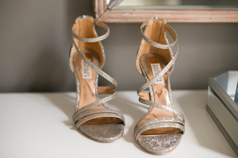 Bride shoes, New Orleans Wedding Photographer