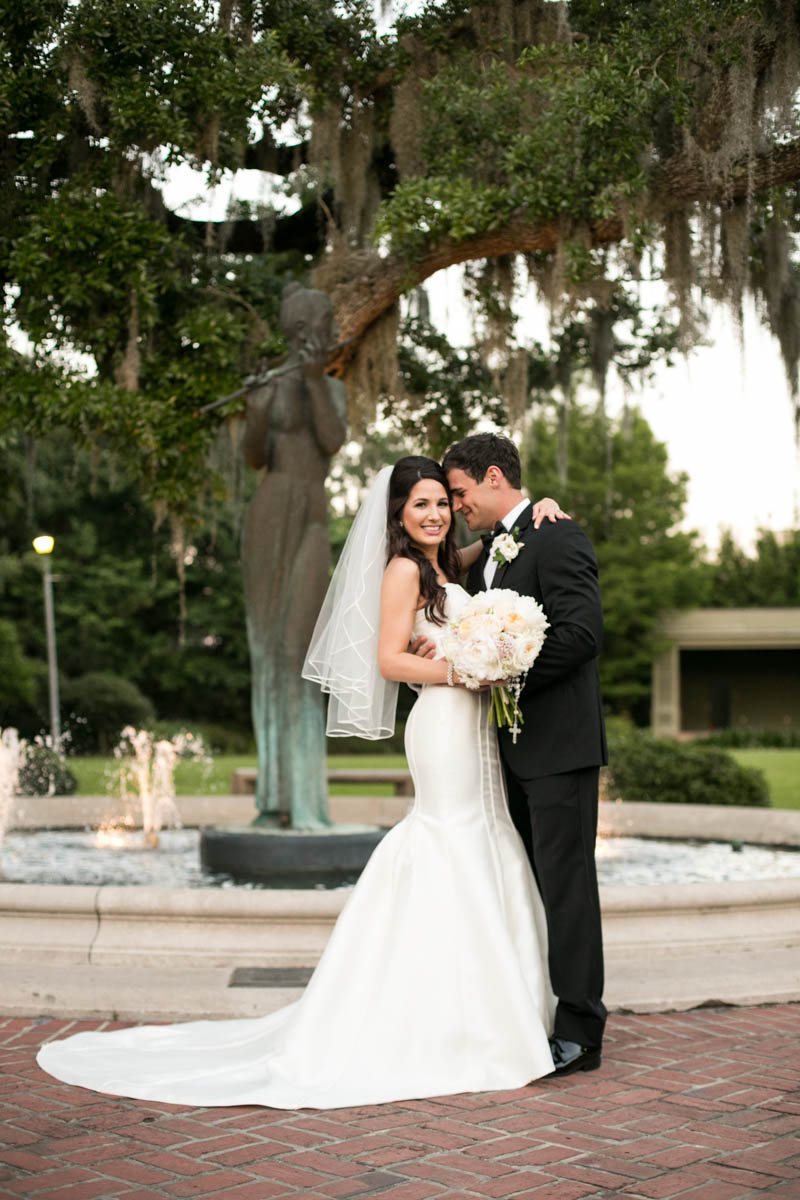 Bride and Groom New Orleans Wedding Claire Elyse Photography