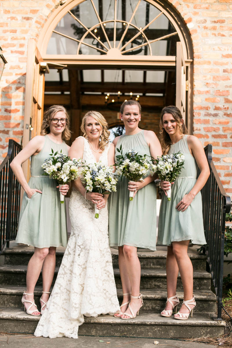 Steele Burden Memorial Orangerie, bridesmaids