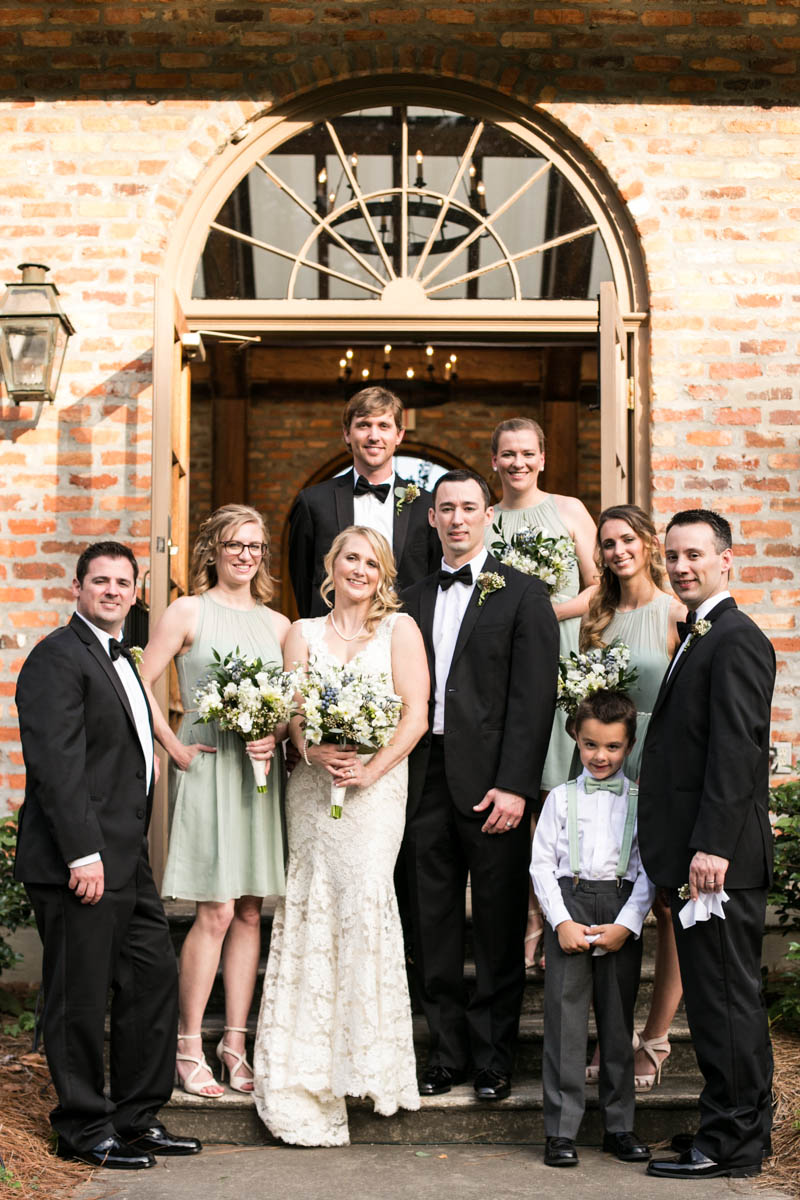 Bridal Party Baton Rouge Wedding Photographer