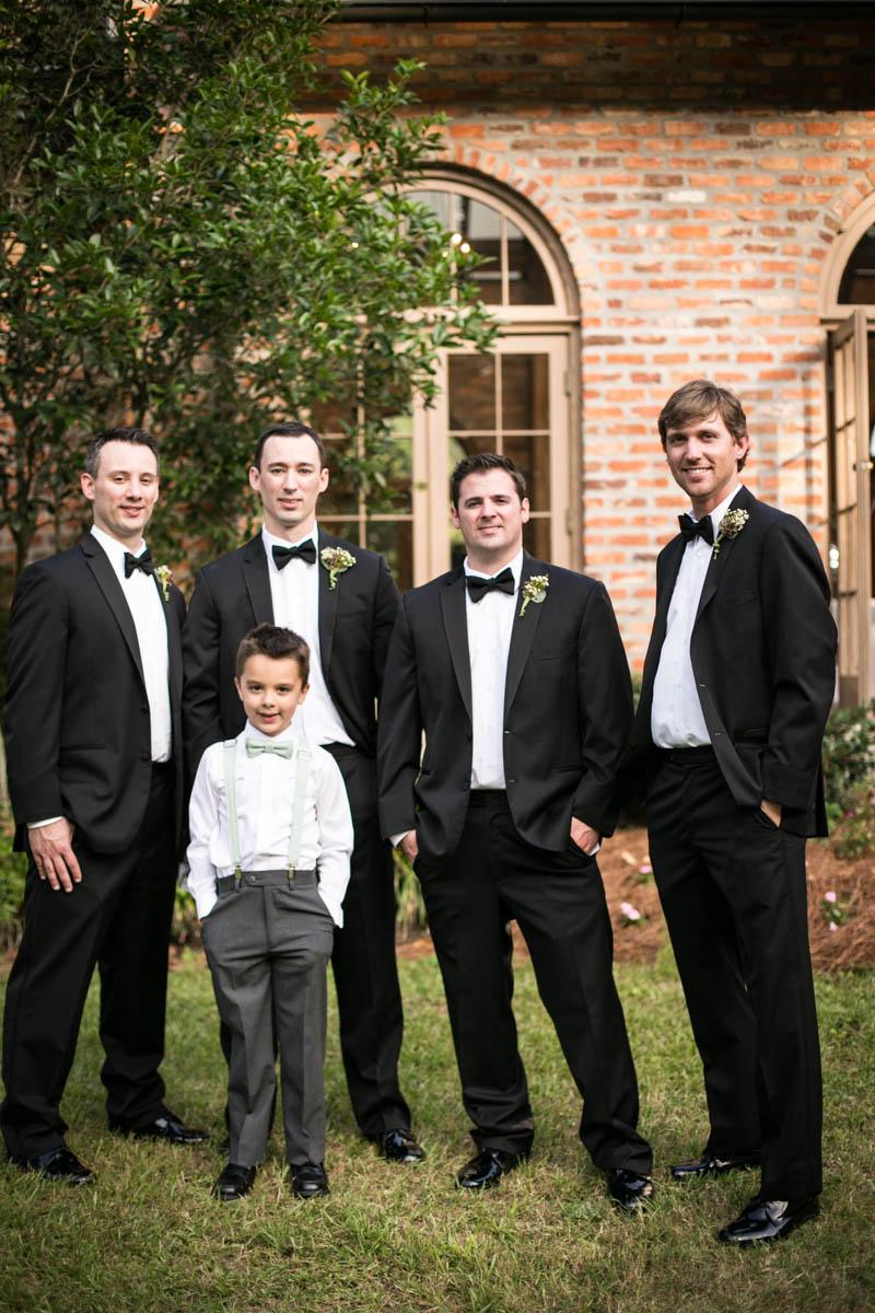Steele Burden Memorial Orangerie, groomsmen