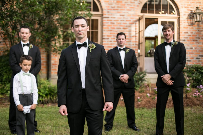 Groom Baton Rouge Wedding Photographer