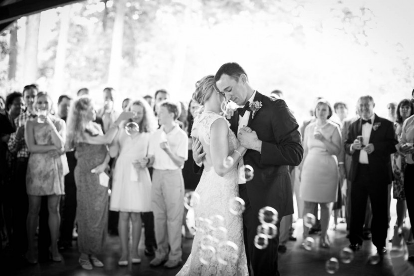 Bride and Groom Dance Baton Rouge Wedding Photographer