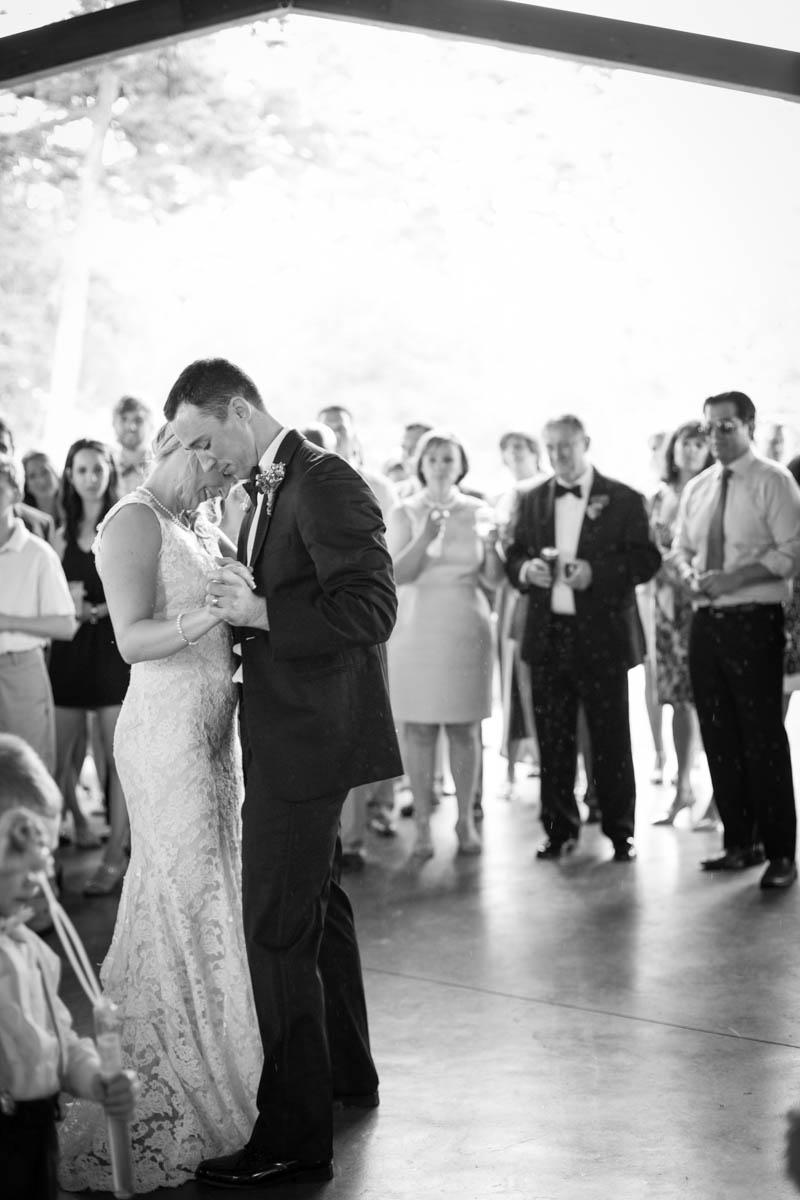 Baton Rouge weddings, Steele Burden Memorial Orangerie, bride and groom, first dance