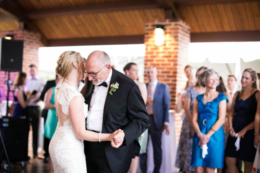 Baton Rouge weddings, Steele Burden Memorial Orangerie, daddy daughter dance