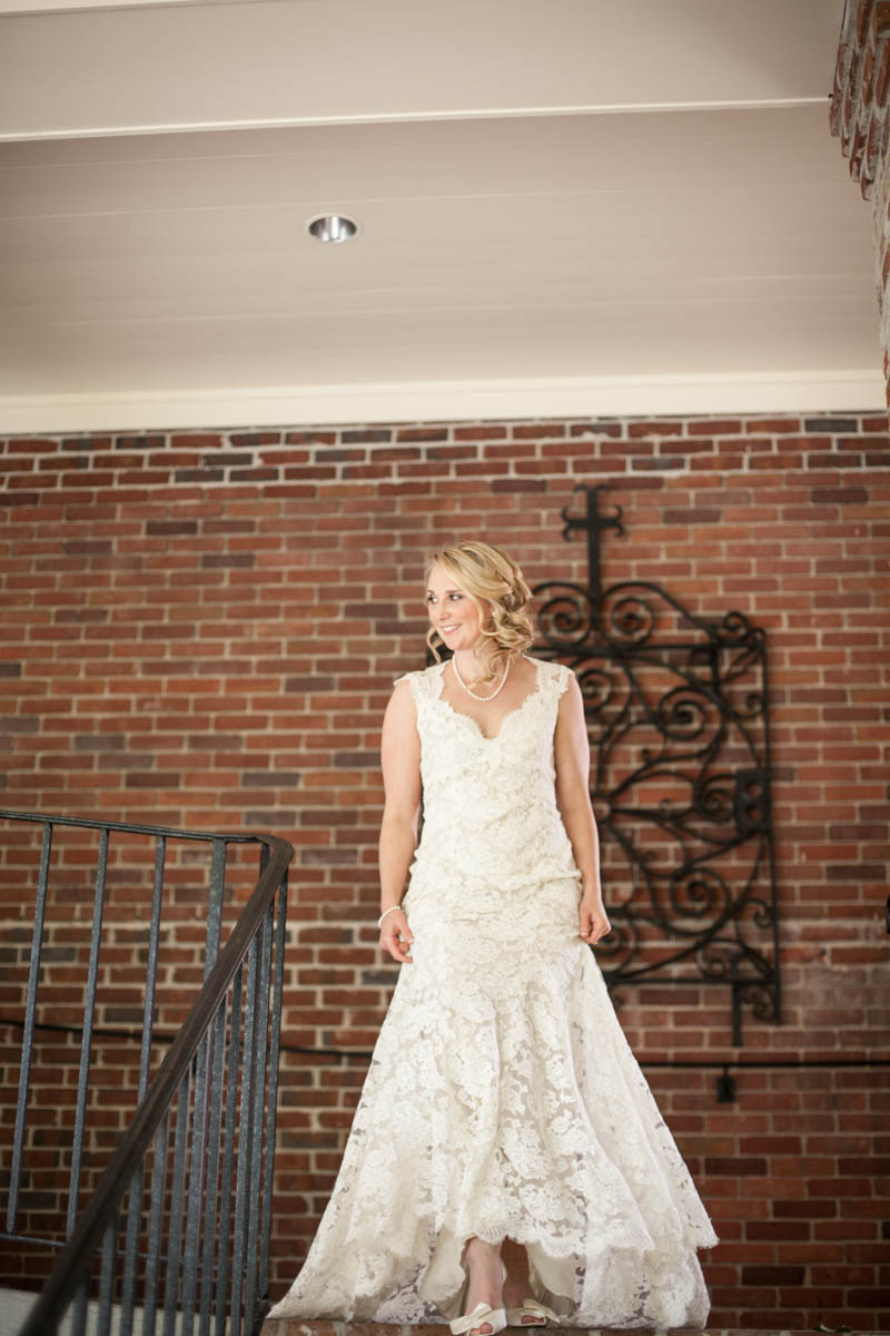 Bride First Look Baton Rouge Wedding Photographer