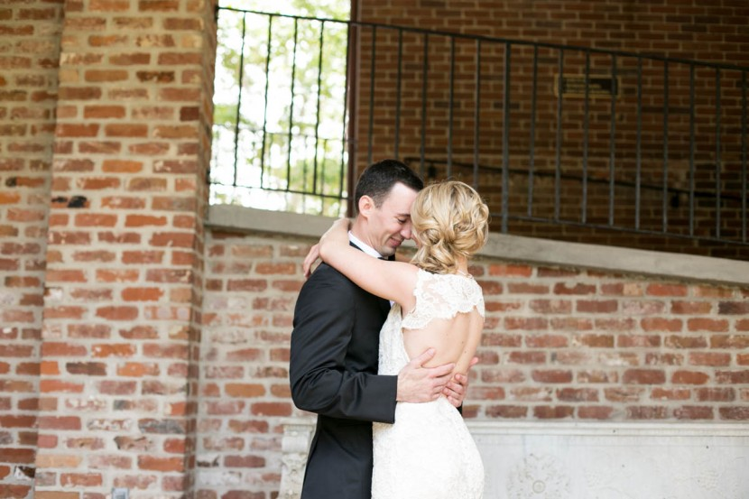 First Look Baton Rouge Wedding Photographer