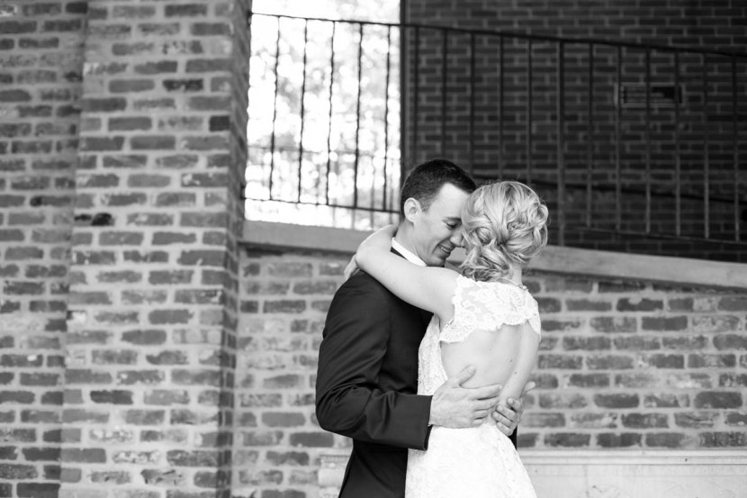 Baton Rouge Wedding, First Presbyterian Downtown, bride and groom