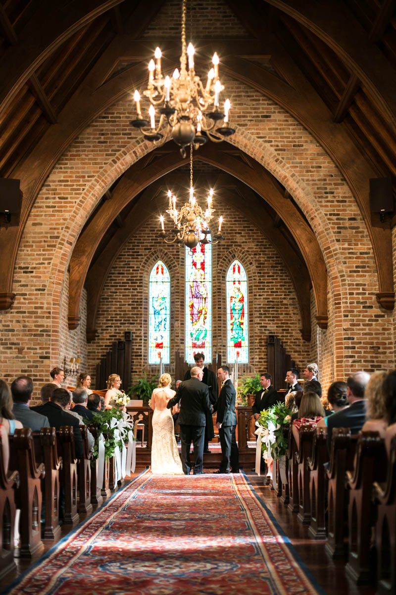 Wedding Ceremony, First Presbyterian Church Downtown Baton Rouge