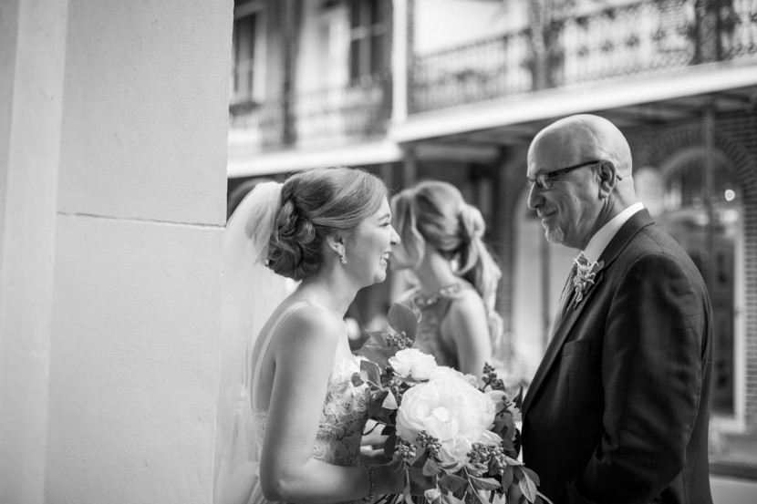 Maison Montague Weddings, New Orleans Photographer, daddy daughter