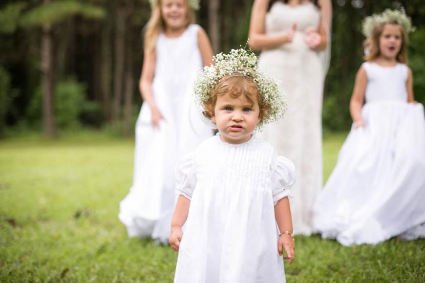 St. Francisville Wedding Photographer flower girl