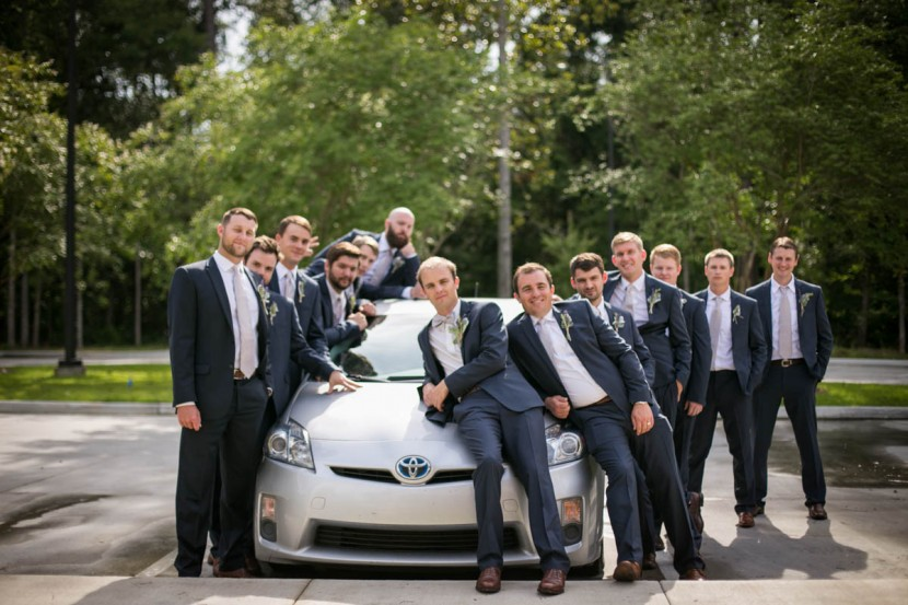 St. Francisville Wedding Photographer groomsmen