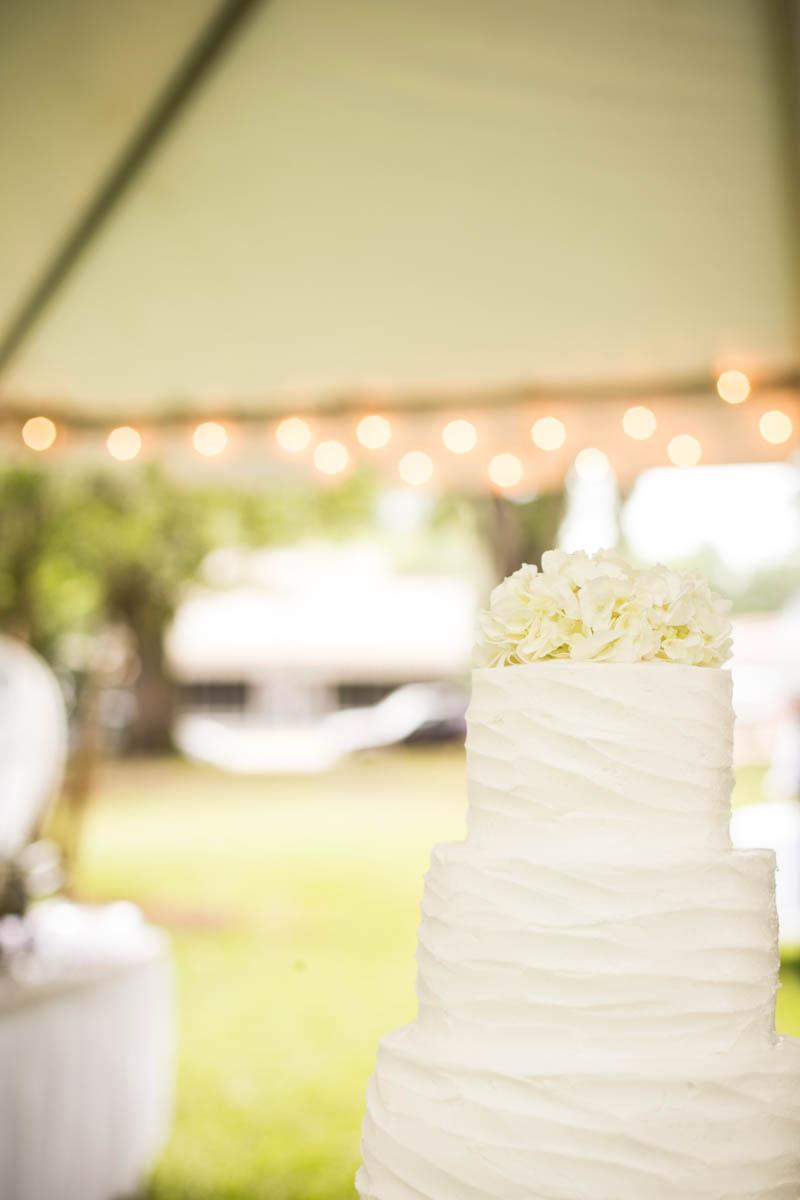 St. Francisville Wedding Photographer cake