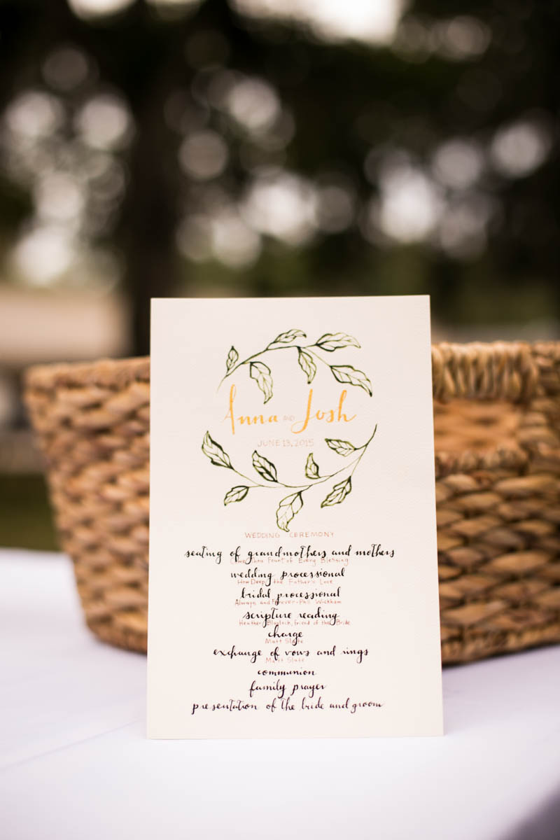 St. Francisville Wedding Photographer  program