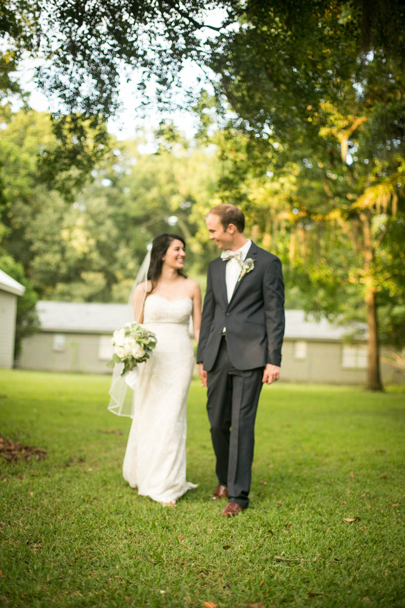 St. Francisville Wedding Photographer bride and groom