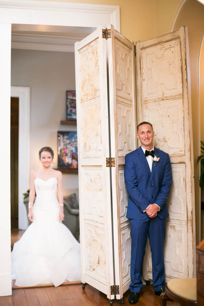 First Look New Orleans Wedding Terrell House