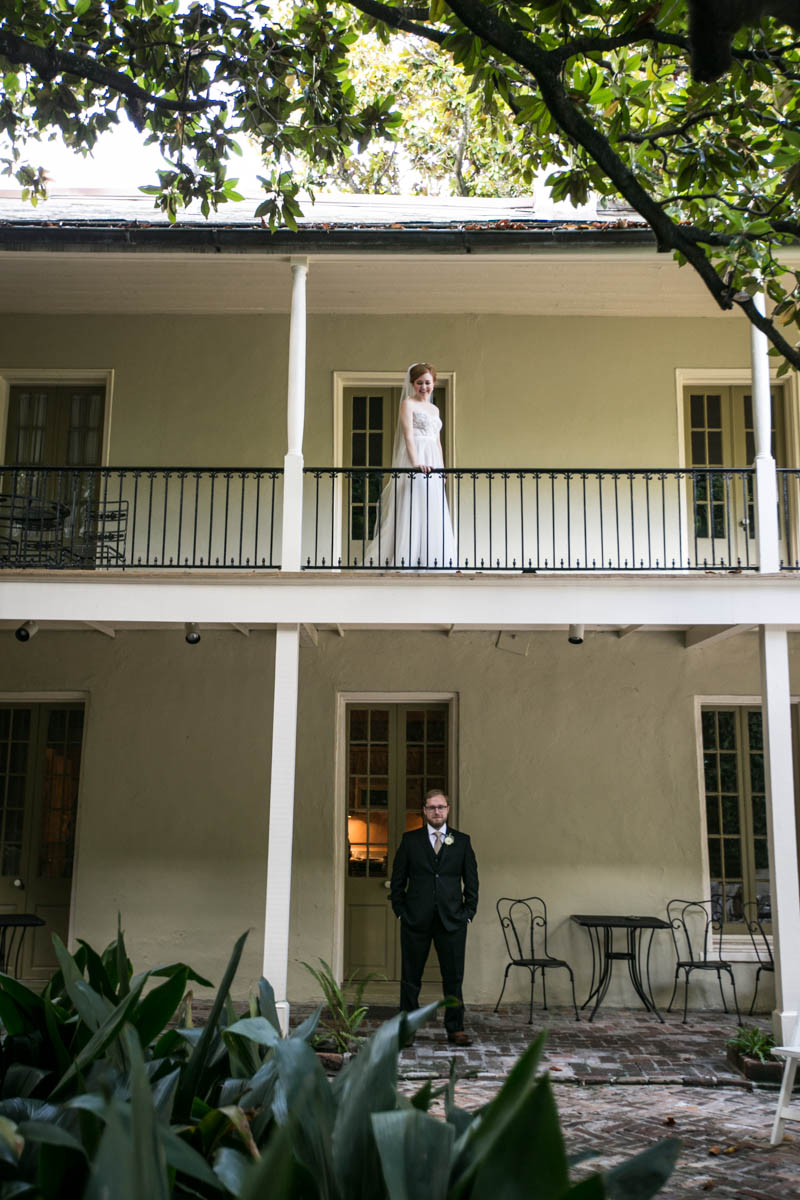 First Look New Orleans Wedding Photograhpers_Maison Montagut